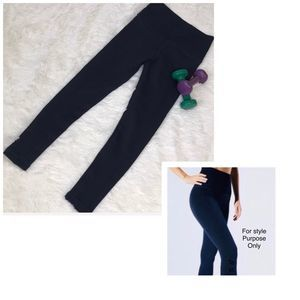 Avocado Vintage Phoenix Fire Black Legging